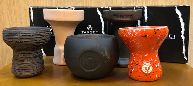 Чаши для кальяна «Target»