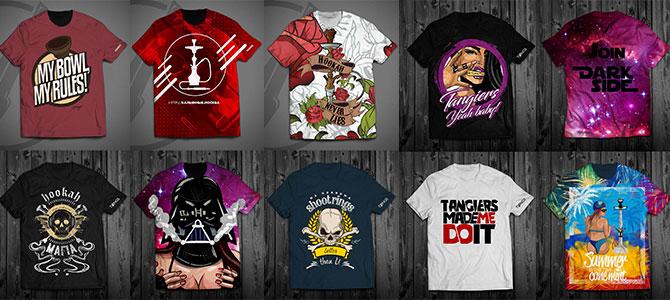 Одежда для любителей кальянов «TONGS»