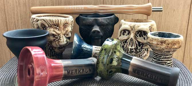 Мощные и красивые чаши «Werkbund Hookah»