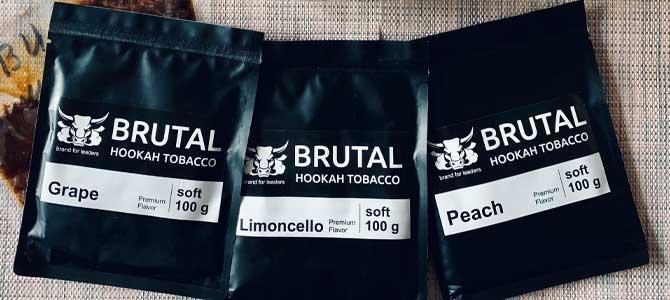 Табак BRUTAL — сочная новинка