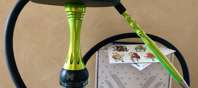 Кальян ALPHA HOOKAH MODEL X: выдающийся крепыш