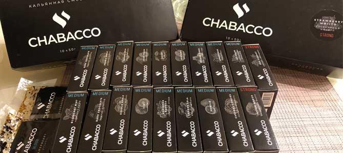 Chabacco: большой обзор новых вкусов