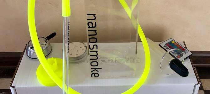 Футуристичный кальян Nanosmoke Tube