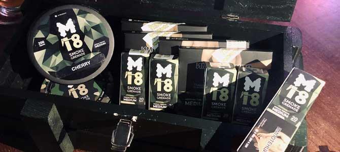 Табак M18: дымовая граната