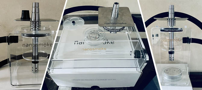 Современные кальяны nanosmoke pro: модели cube, one, box